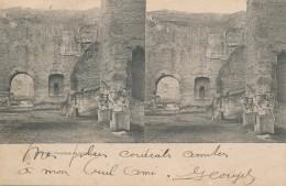 U.413.  ROMA -  Lotto Di 2 Cartoline Stereoscopiche - Andere Monumenten & Gebouwen