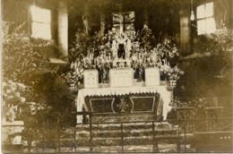 55 SAINT-MAURICE-SOUS-LES-CÔTES - Rare Carte-photo Intérieur De L'Église - 2 Scans - France