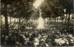 49 ANGERS - Rare Carte-photo Par J. EVERS - Inauguration Statue Jeanne D'Arc 27/06/1909 - 2 Scans - Angers