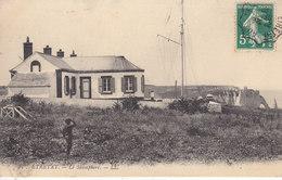 76 . Seine Maritime : Etretat : Le Sémaphore . - Etretat
