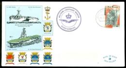 """Nederland 1984 Speciale Envelop Met Flyer Militaire Luchtvaart Museum Soesterberg """"De Kooy"""" Den Helder - Period 1980-... (Beatrix)"""