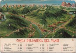 Conca Dolomitica Del Vanoi (Trento). Nuova. Canal San Bovo, Caoria, Zortea, Prade, Ronco, Calaita - Trento