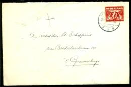 Nederland 1942 Brief Van Zaandijk Naar Den Haag - 1891-1948 (Wilhelmine)