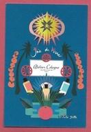 F - New !! Carte Type Postale Atelier Cologne  - Perfume Card - Cartes Parfumées