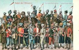 SALUT DE L'ORIENT THE INDIAN NATIVE ARMY L'ARMEE DES INDES - Turquie