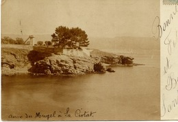 13 Anse Du Mugel à LA CIOTAT - Rare Carte-photo - La Ciotat