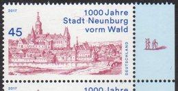 GERMANY, 2017, MNH, NEUNBURG VORM WALD, CATHEDRALS, 1v - Chiese E Cattedrali