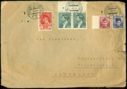 Tsjecho Slowakije 1946 Brief Naar Nederland - Cartas