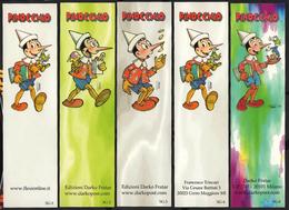 Lotto 14 Segnalibrii Pinocchio Bookmarks Pinokjo Lesezeichen Pinocho Signets Пинокио BD Ostržek - Segnalibri