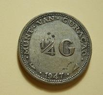 Curacao 1/4 Gulden 1947 Silver - Curacao