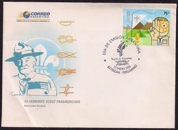 Argentina - FDC - 2005 - Robert Stephenson Smyth Baden-Powell XIIème Jamboree Scout Panaméricain Du 8 Au 16 Janvier 2005 - Scouting