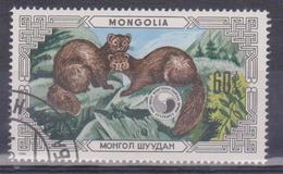 1986 Mongolia - Animali - Mongolia
