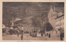 BOZEN-BOLZANO-KAISER FRANZ-JOSEL PLATZ-TRAM-CARTOLINA ANNO 1910-1915 - Bolzano
