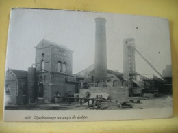 BEL 8917 - CPA - BELGIQUE - CHARBONNAGE AU PAYS DE LIEGE. - Liege