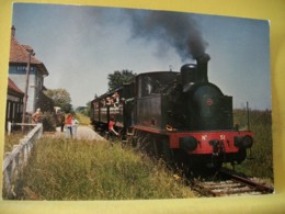 "CH 8905 CPM - 68 LIGNE CERNAY-SENTHEIM. LOCOMOTIVE MEUSE N° 51 ETRAME DITE ""DE PALAVAS"" EN GARE DE D'ASPACH. - Bahnhöfe Mit Zügen"