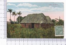 Cuba ~ Un Bohio ~ Country Hut ~ 1920 ~ Manuel J. Otero ~ Cardenas - Cuba
