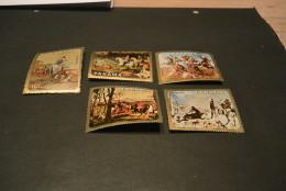 K15157  Set MNH Panama - Paintings - Chevaux