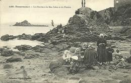 DOUARNENEZ  -les Rochers De Men Léon Et Du Fimion                                -- Villard 3280 - Douarnenez