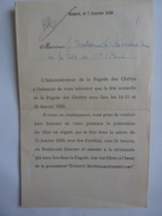 """Viêt Nam. Saigon """"Pagode De Chettys""""  Programme Fête Annuelle   Procession """"DIVINITE SOUPPRAMANIASSOUVAMY"""" Clas 3 - Historical Documents"""