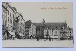 Place Du Grand Sablon, Bruxelles, België Belgique - Squares
