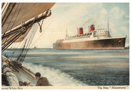 (444) Older Postcard - Carte Ancienne - Cruise Ship New Mauritania - Dampfer