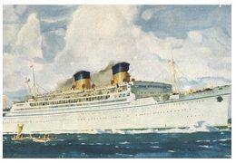 (444) Older Postcard - Carte Ancienne - Cruise Ship Mariposa - Dampfer