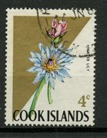 Cook Islands 1967 4c Flower Issue #204 - Cookeilanden