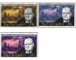 Ref. 231786 * MNH * - GAMBIA. 1966. DEATH ANNIVERSARY OF WINSTON CHURCHILL . ANIVERSARIO DE LA MUERTE DE WINSTON CHURCHI - Gambia (1965-...)