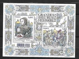 France La Poste 2014 Les Grandes Heures De L' Histoire De France Catherine De Médicis , Le Camp Du Drap D' Or - France
