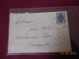 Lettre De Russie Avec Cachet De 1893 - 1857-1916 Empire