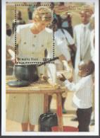 BURKINA FASO, 1998 DIANA MINISHEET MNH - Burkina Faso (1984-...)