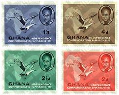 Ref. 35350 * MNH * - GHANA. 1957. BASIC SET . SERIE BASICA - Ghana (1957-...)