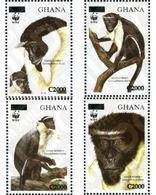 Ref. 201001 * MNH * - GHANA. 2006. DIANA MONKEY . MONO DIANA - Postzegels