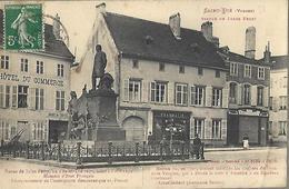 Saint Dié - Statue De  Jules Ferry.  - Pharmacie Louis Serres - Saint Die