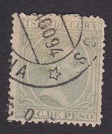 Cuba, Scott #140, Used, King Alfonso XIII, Issued 1890 - Cuba (1874-1898)