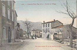 Cases-de-Pène (Pyrénées Orientales) - Entrée Du Village - Edition Brun, Carte N° 1250 Colorisée Non Circulée - Francia