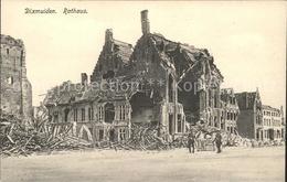 41706666 Dixmuiden Rathaus Ruine Belgien - Belgique