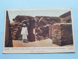The House Where General Slatin Lived During His Captivity OMDURMAN ( G. N. Morhig Khartoum ) Anno 1921 ( Voir Photo ) ! - Soudan