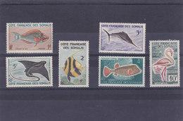 Cote Des Somalis N°292/297 - Französich-Somaliküste (1894-1967)