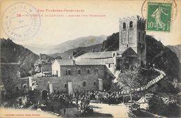 St Saint-Martin Du Canigou (Pyrénées Orientales) - Arrivée D'un Pèlerinage - Edition Labouche Frères - Other Municipalities