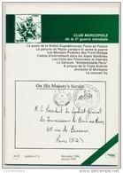 Club Marcophile De La Seconde Guerre Mondiale - Bulletin N°8 - Décembre 1986/Janvier 1987 - Poste Militaire & Histoire Postale