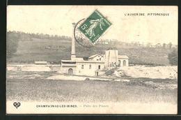 CPA Champagnac-les-Mines, Puits Des Planes - Zonder Classificatie