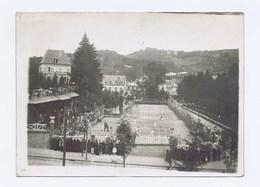 TENNIS à LA BOURBOULE (Puy-de_Dôme 63150) PHOTO Véritable Garantie D'époque 1920. Grande Qualité Et Très Bien Conservée - Autres