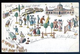 Rare Cpa Allemagne Gruss Aus Bade Bade ...   Baden Baden   Aout18-4 - Baden-Baden