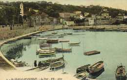 St JEAN CAP FERRAT  Le Port Colorisée RV - Saint-Jean-Cap-Ferrat