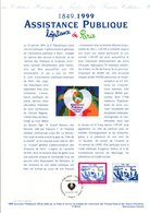 1999 DOCUMENT FDC 150 ANS ASSISTANCE PUBLIQUE HOPITAUX DE PARIS - Documents De La Poste
