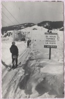 CPSM - SKI - REMONTEE MECANIQUE - Pub BYRRH - Edition G.Rossat Mignod - Sports D'hiver