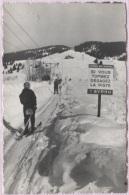 CPSM - SKI - REMONTEE MECANIQUE - Pub BYRRH - Edition G.Rossat Mignod - Wintersport