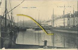 Leuven - Louvain :  Le Canal  ( Geschreven 1908 Met Zegel ) - Leuven