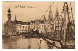 BELGIQUE - OSTENDE Le Port - Oostende